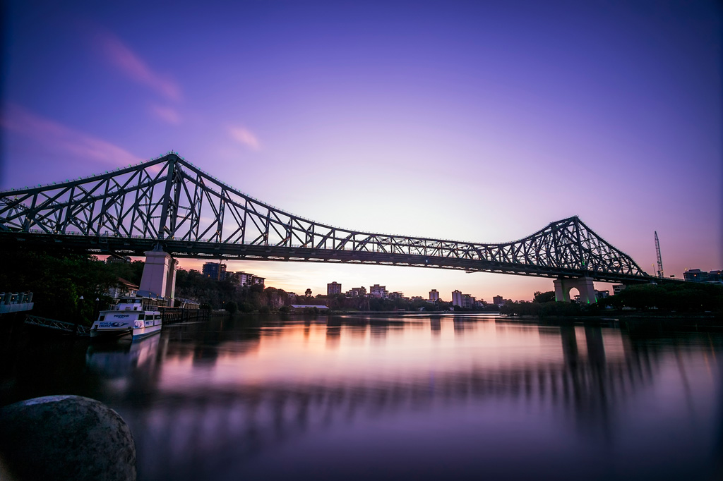 Story Bridge with Lee Big Stopper on Panasonic 7-14mm