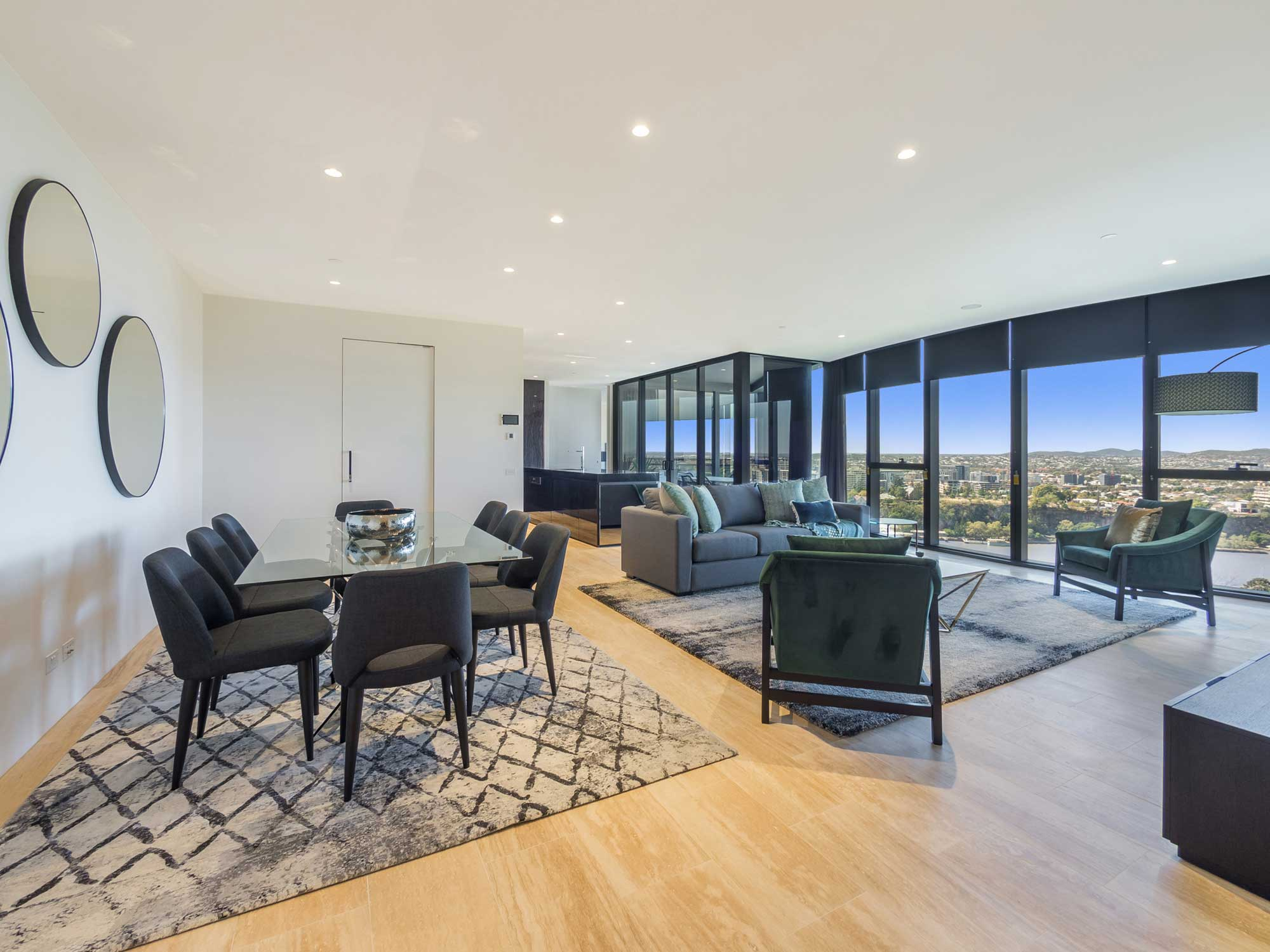 Prestige penthouse apartment photography - Abian Apartments near the Botanic Gardens