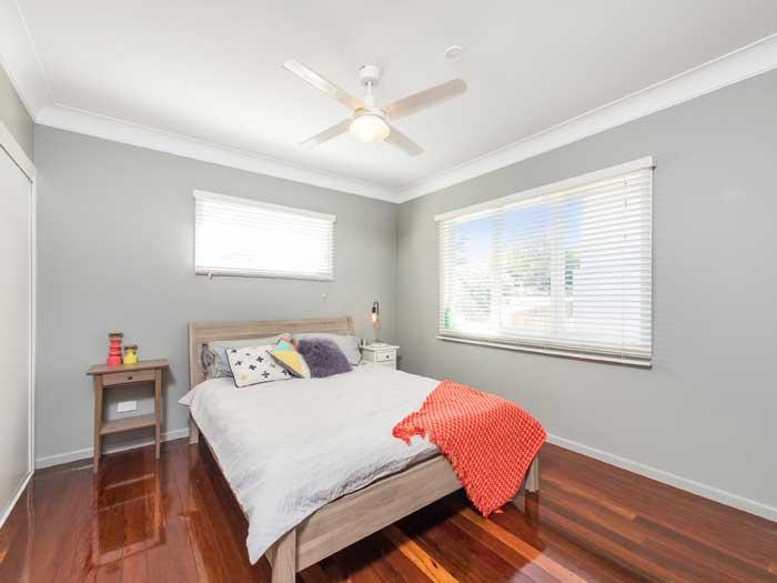 Brisbane northside property photography, bedroom