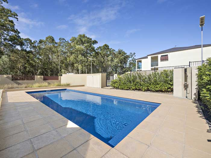 Calamvale pool townhouse photography Brisbane Phil Savory