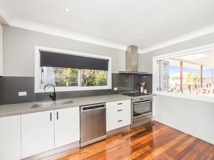 Brisbane northside property photography, kitchen