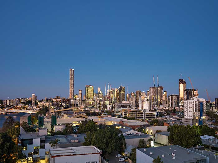 West End Apartment Brisbane view photography Phil Savory