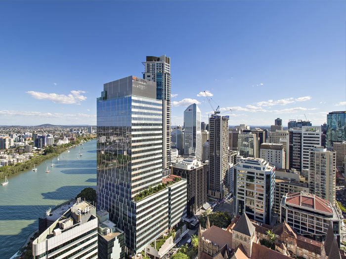 Spire Residences CBD view