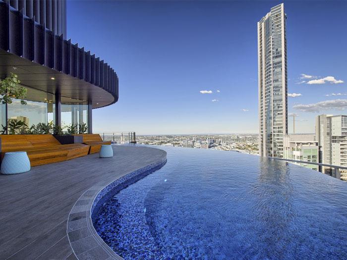 Spire Residences pool