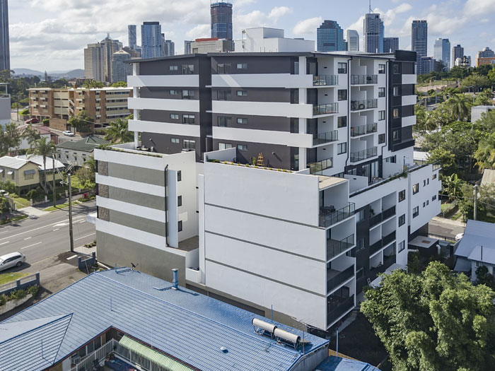 Kangaroo Point Main St drone photography