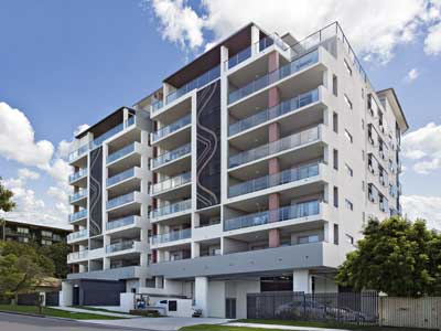 Photographing apartment exteriors around Brisbane
