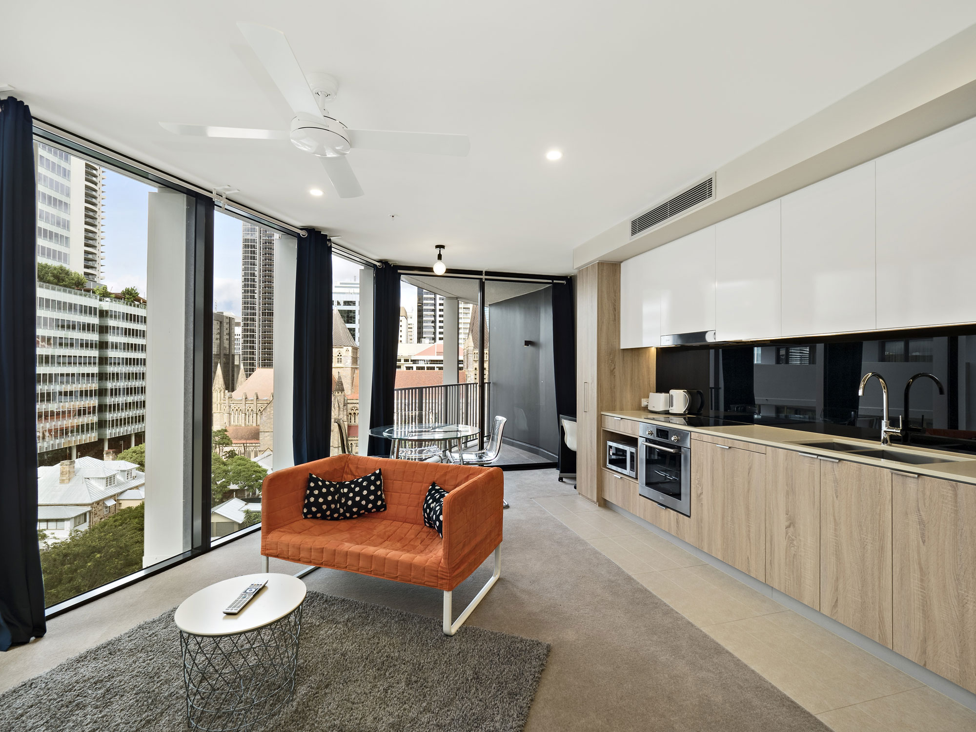 Brisbane apartment photography - Spire Residences - Queen Street Brisbane