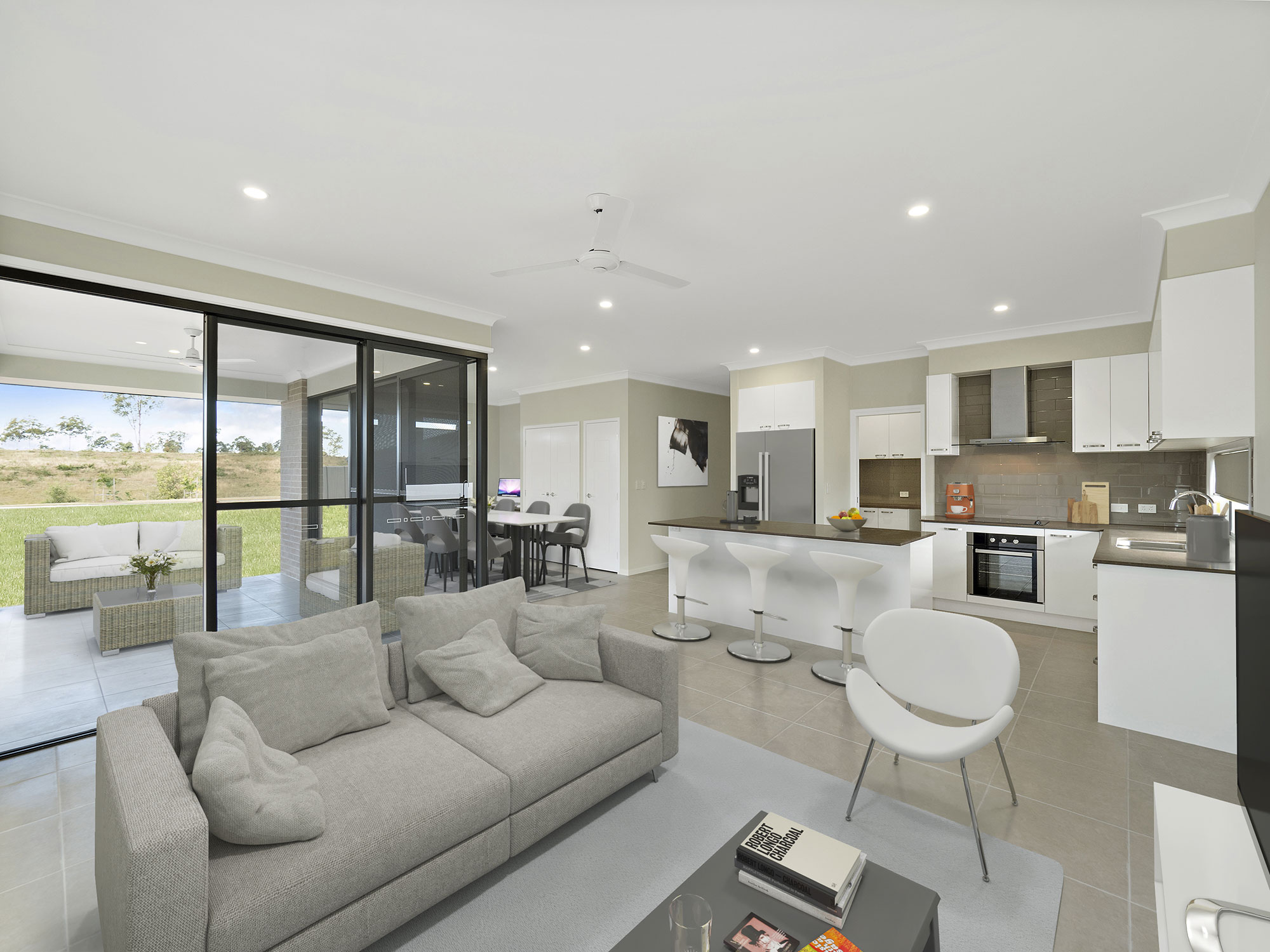 Real estate photography for new home at Palatial Crescent Narangbah