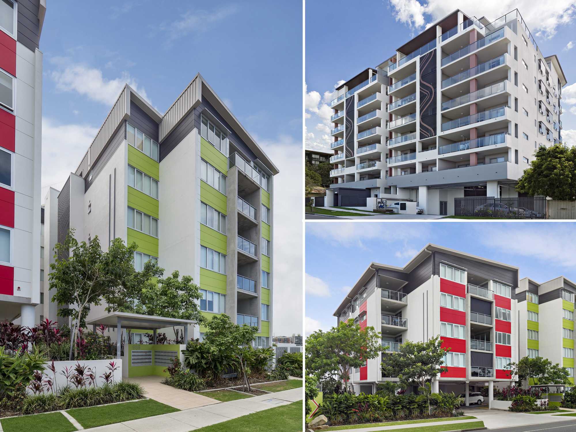 Brisbane apartment exterior real estate photography by Phil Savory
