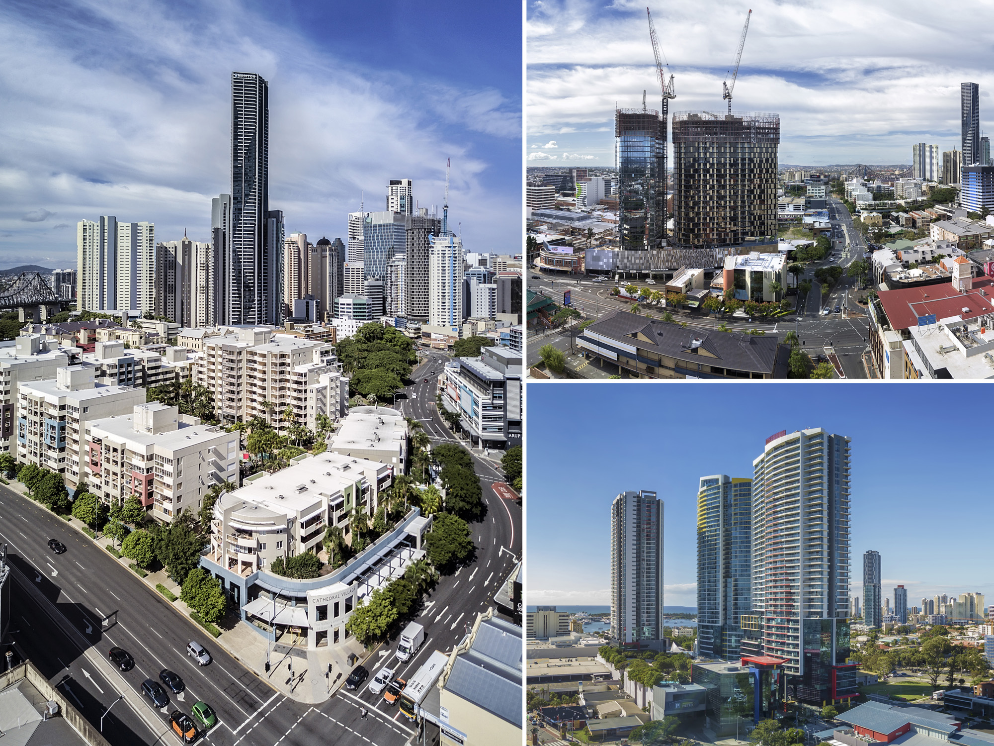 Brisbane aerial drone real estate photography