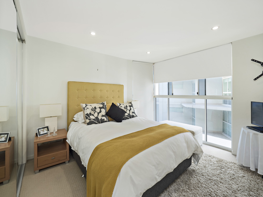 Apartment photography Marine Parade Redcliffe