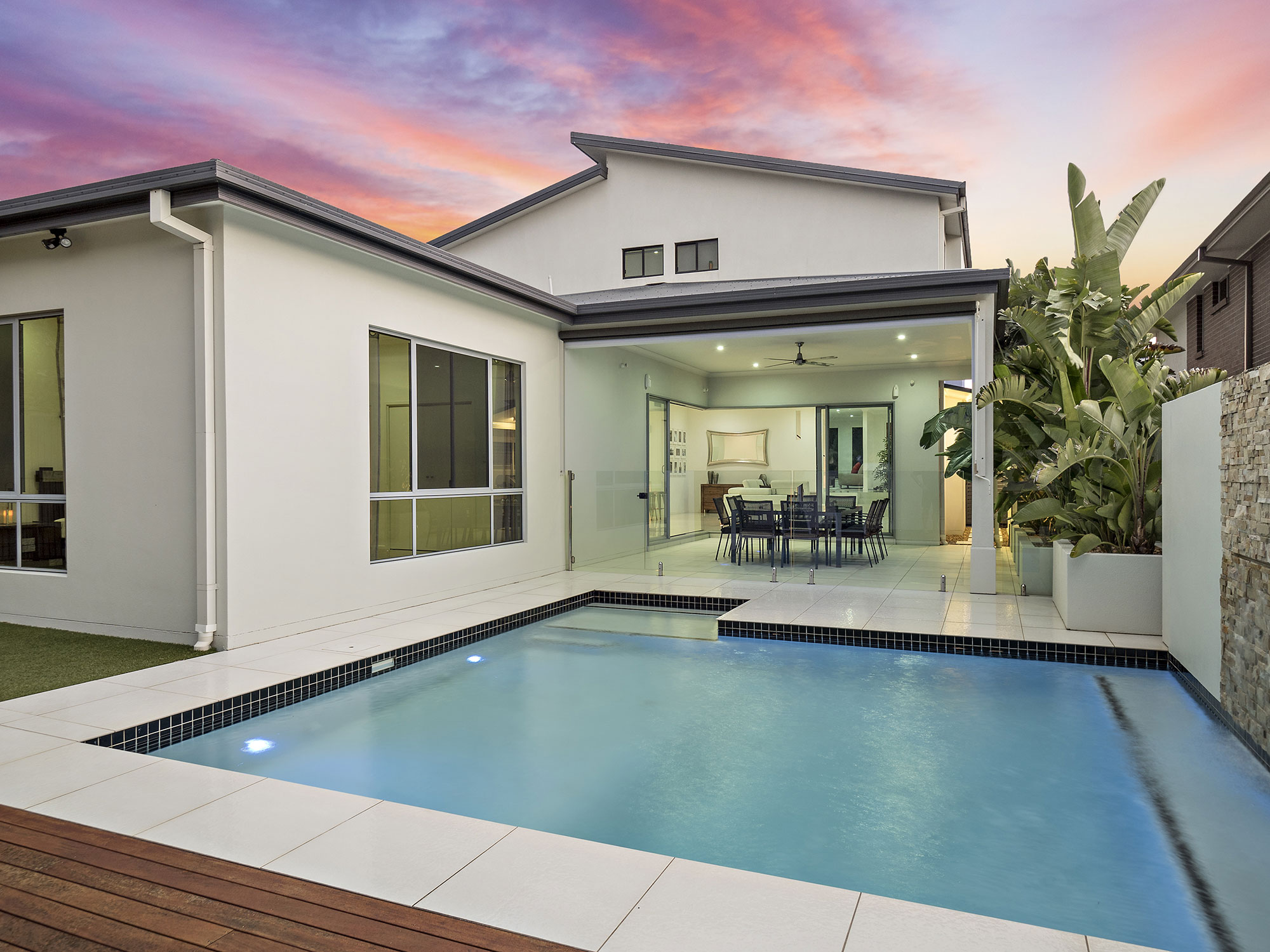 61 Shuttleworth real estate photography rear pool area - Phil Savory