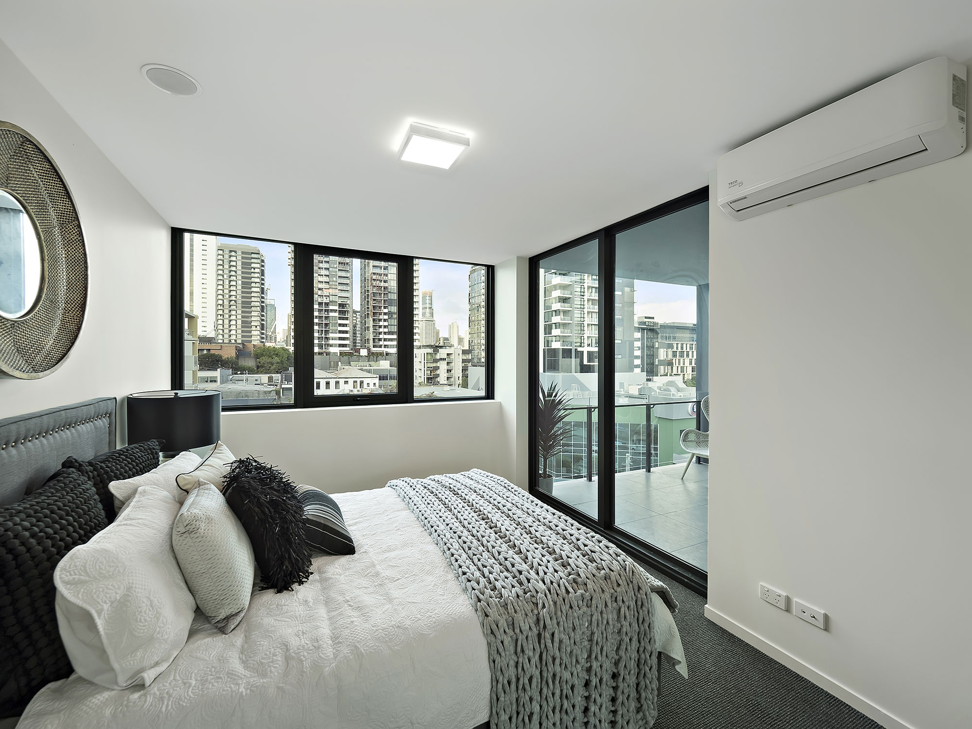 7 Manning St completion photography master bedroom