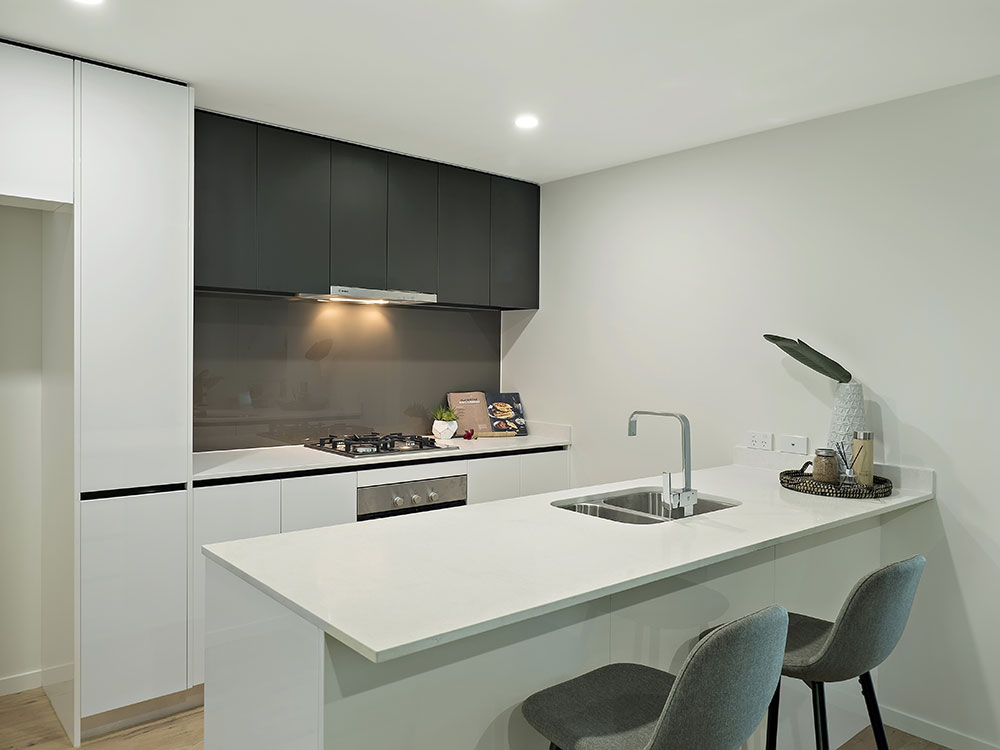 7 Manning St completion photography view to kitchen