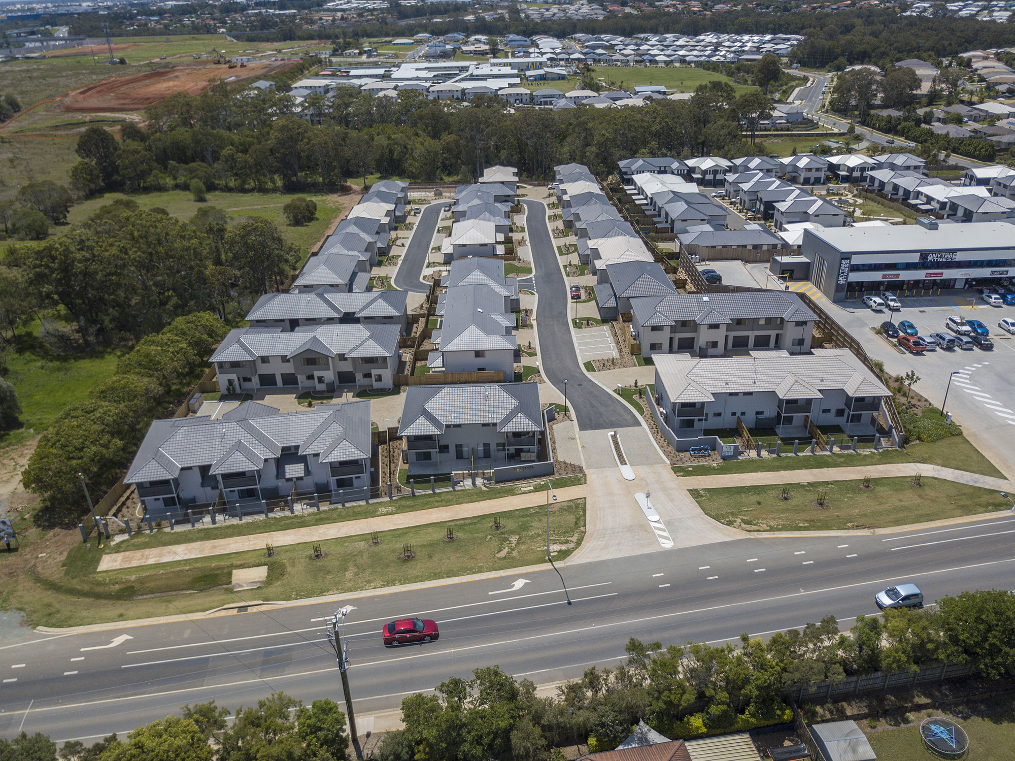 179 Brays Rd Griffin drone photography