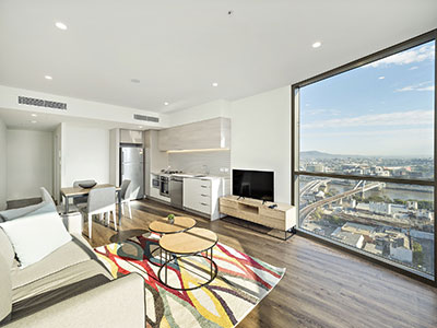 Lucid Living Brisbane apartment photography