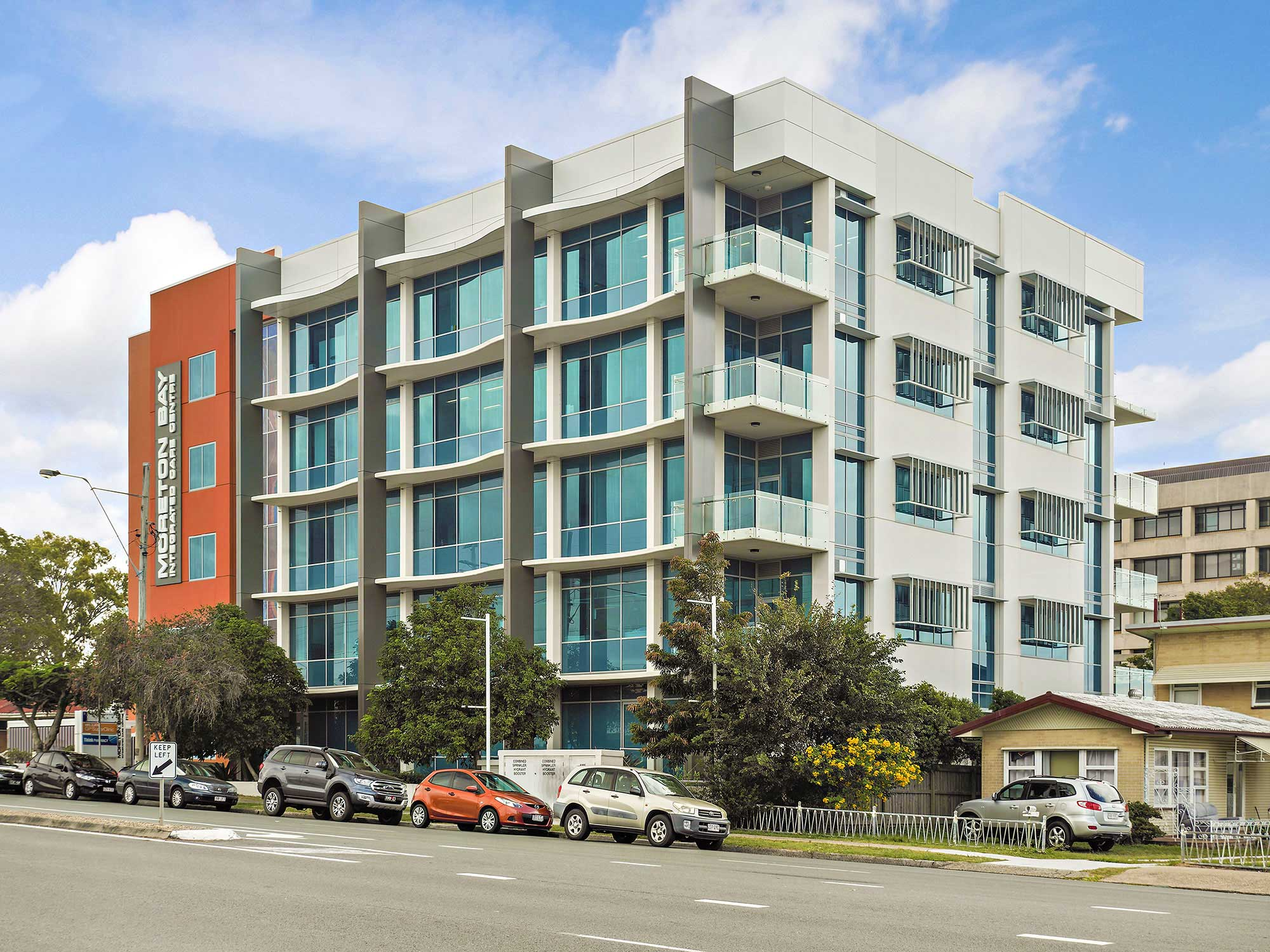 Commercial property photography at Anzac Avenue Redcliffe