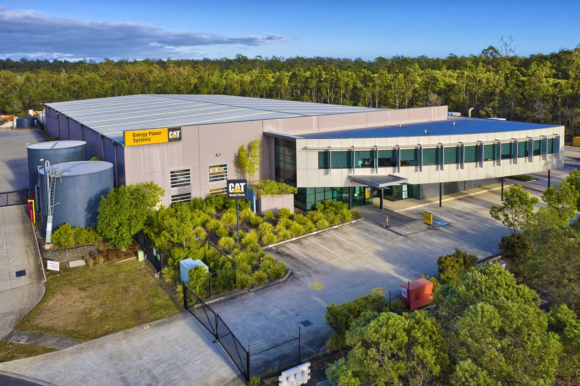 Drone Photography Brisbane - Large format building at Larapinta