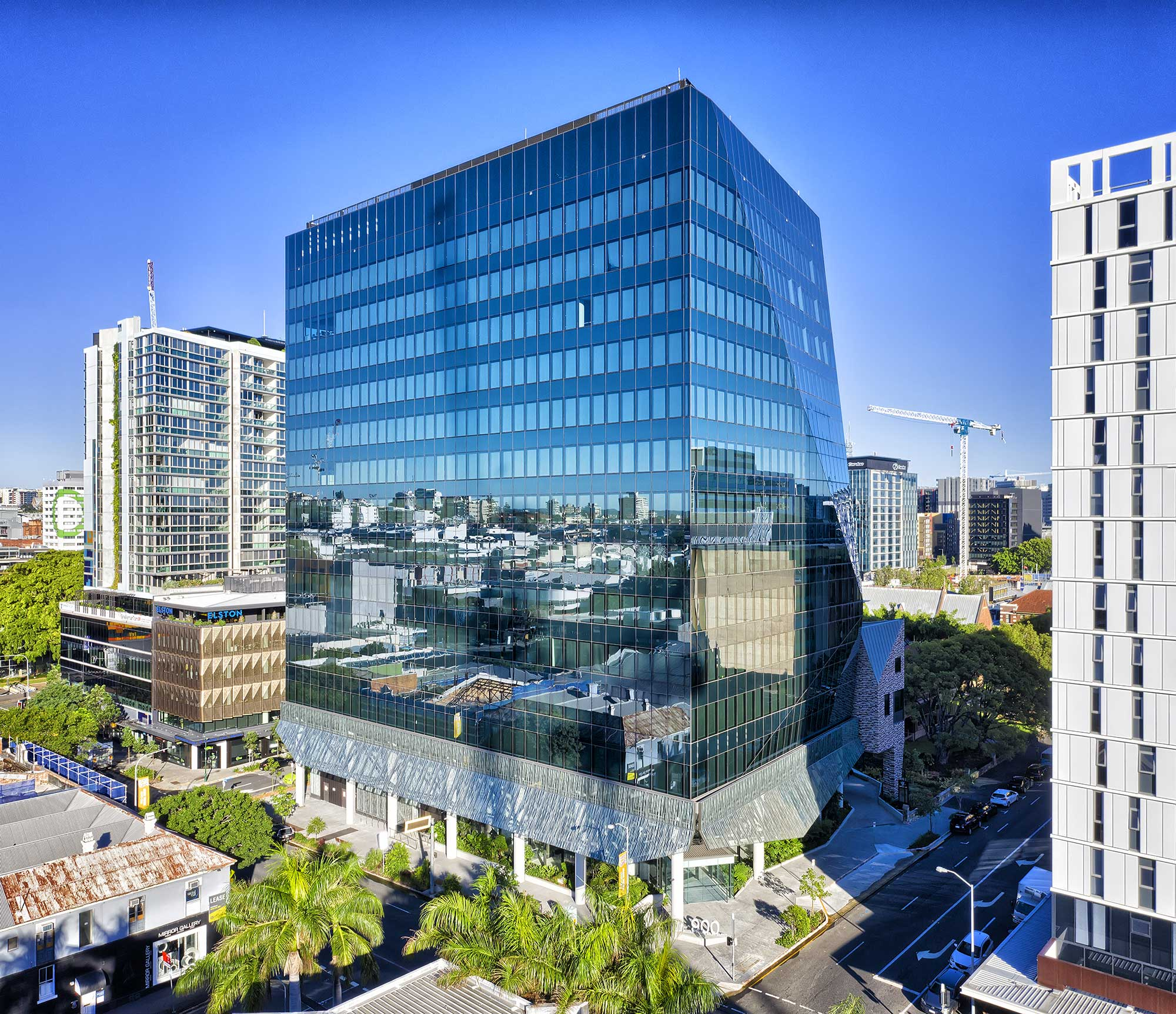 Drone Photography Brisbane - Commercial building Ann St Brisbane