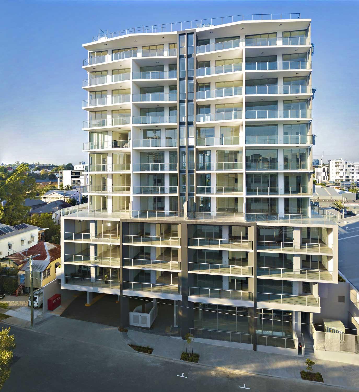 Drone Photography Brisbane - Apartment block - West End