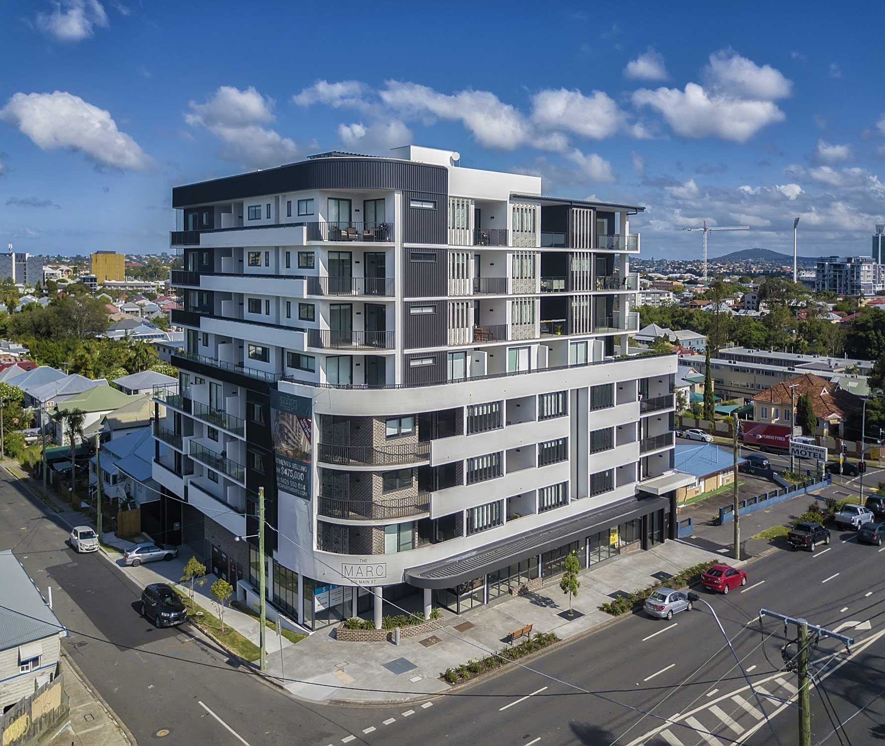 Drone Photography Brisbane - The Marc at Kangaroo Point