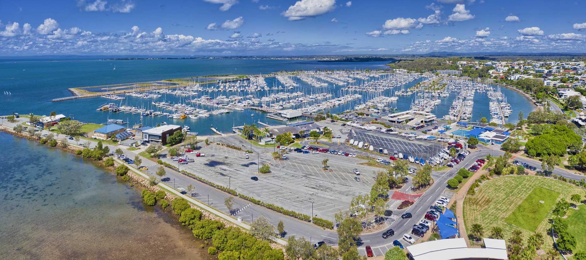 Drone Photography Brisbane - Many Boat Club