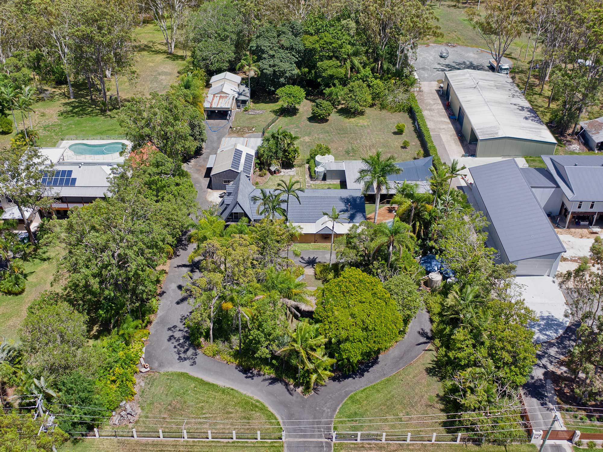 Acreage Photography Brisbane & Surrounds - a new home for sale at Burbank