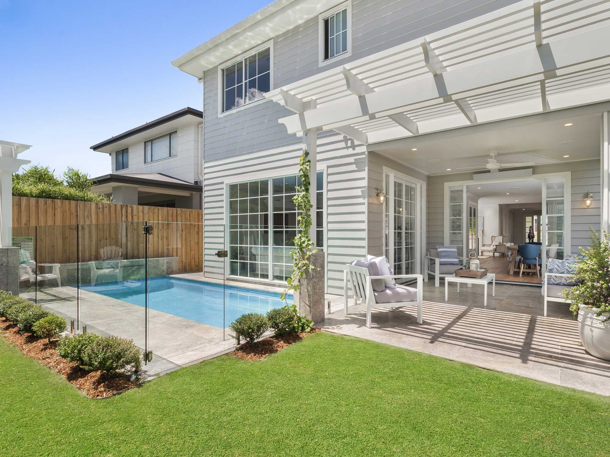 house photography Brisbane  - capturing the outdoor living spaces