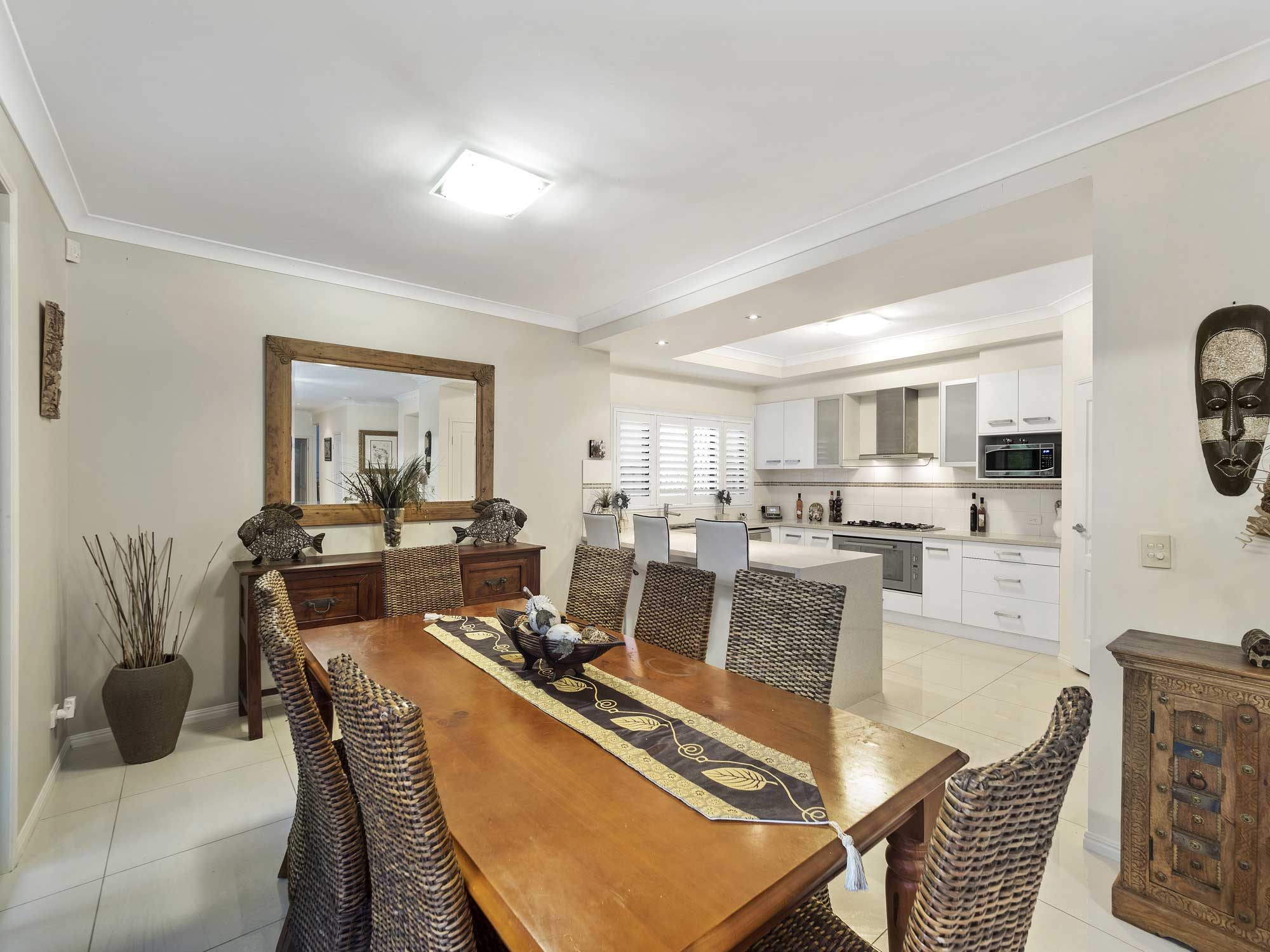 Residential homes for sale in Brisbane - indoor dining areas