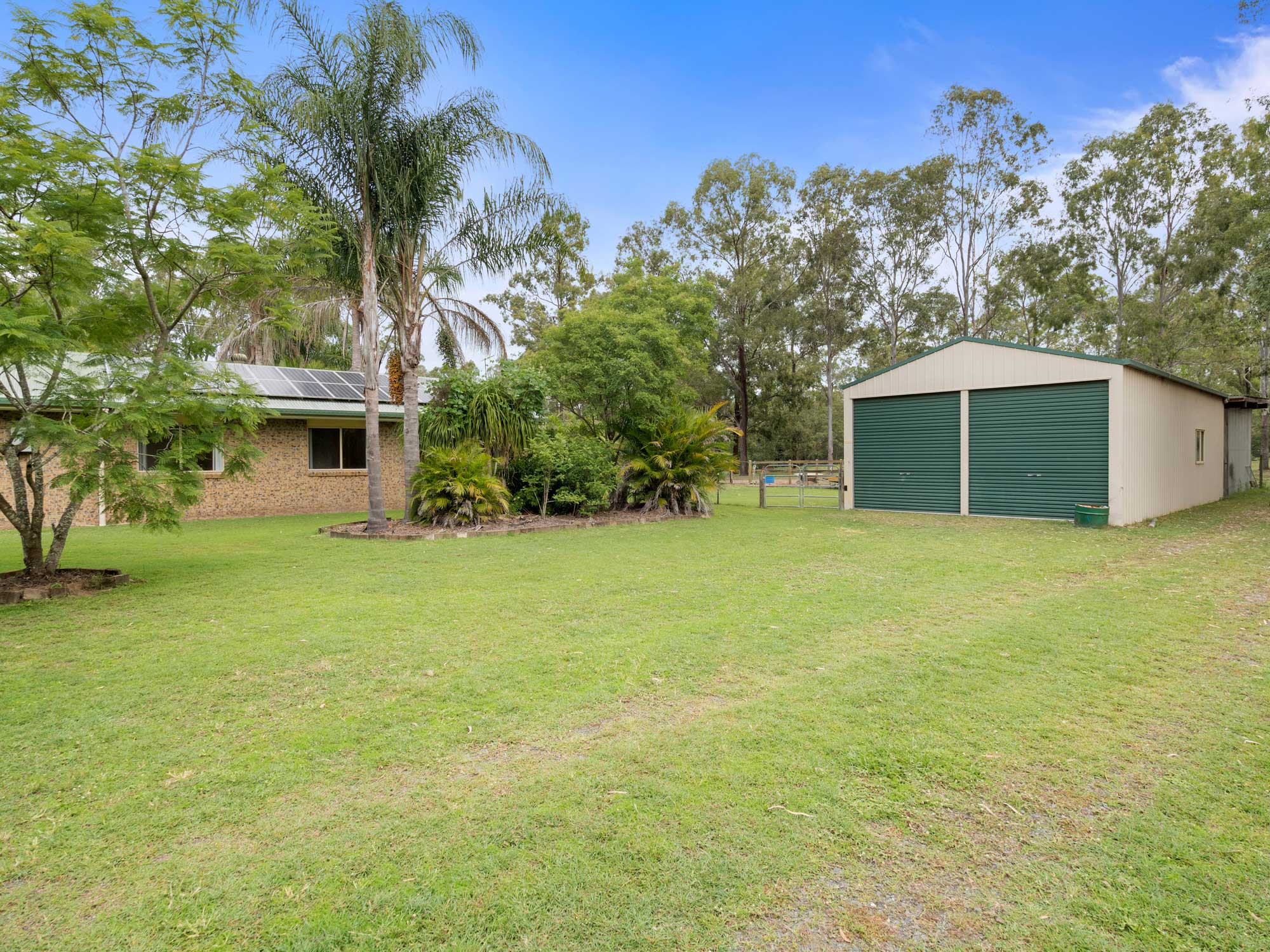 Ground photography at 1033 Teviot Rd Jimboomba for a new real estate listing