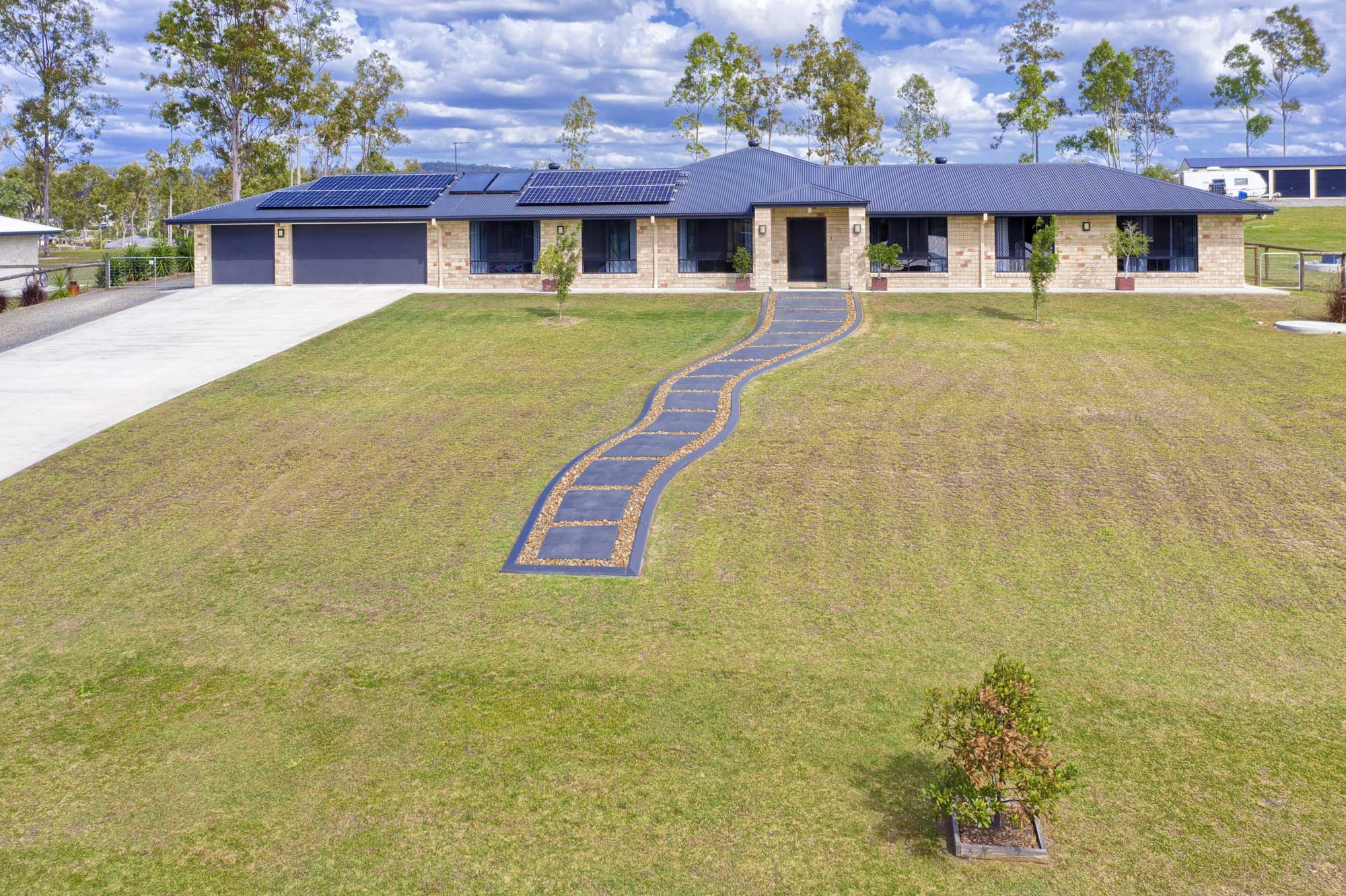 Acreage drone photography at 187  Panitz Drive Jimboomba