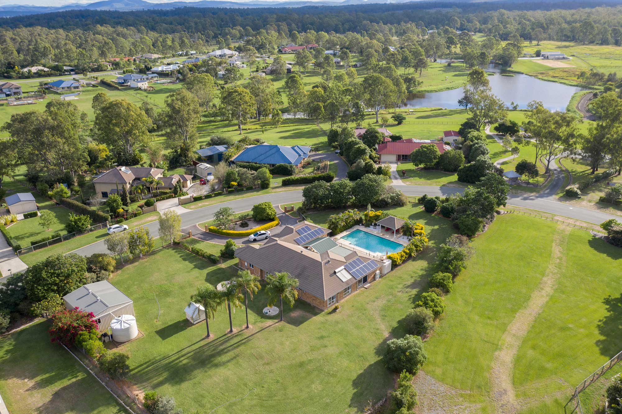 Acreage photography of a new real estate listing at 80 St Jude Circuit Jimboomba