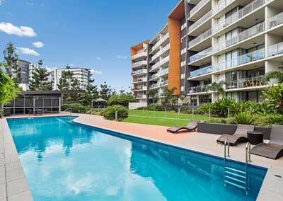 Real estate photography of Kangaroo Point apartment for sale