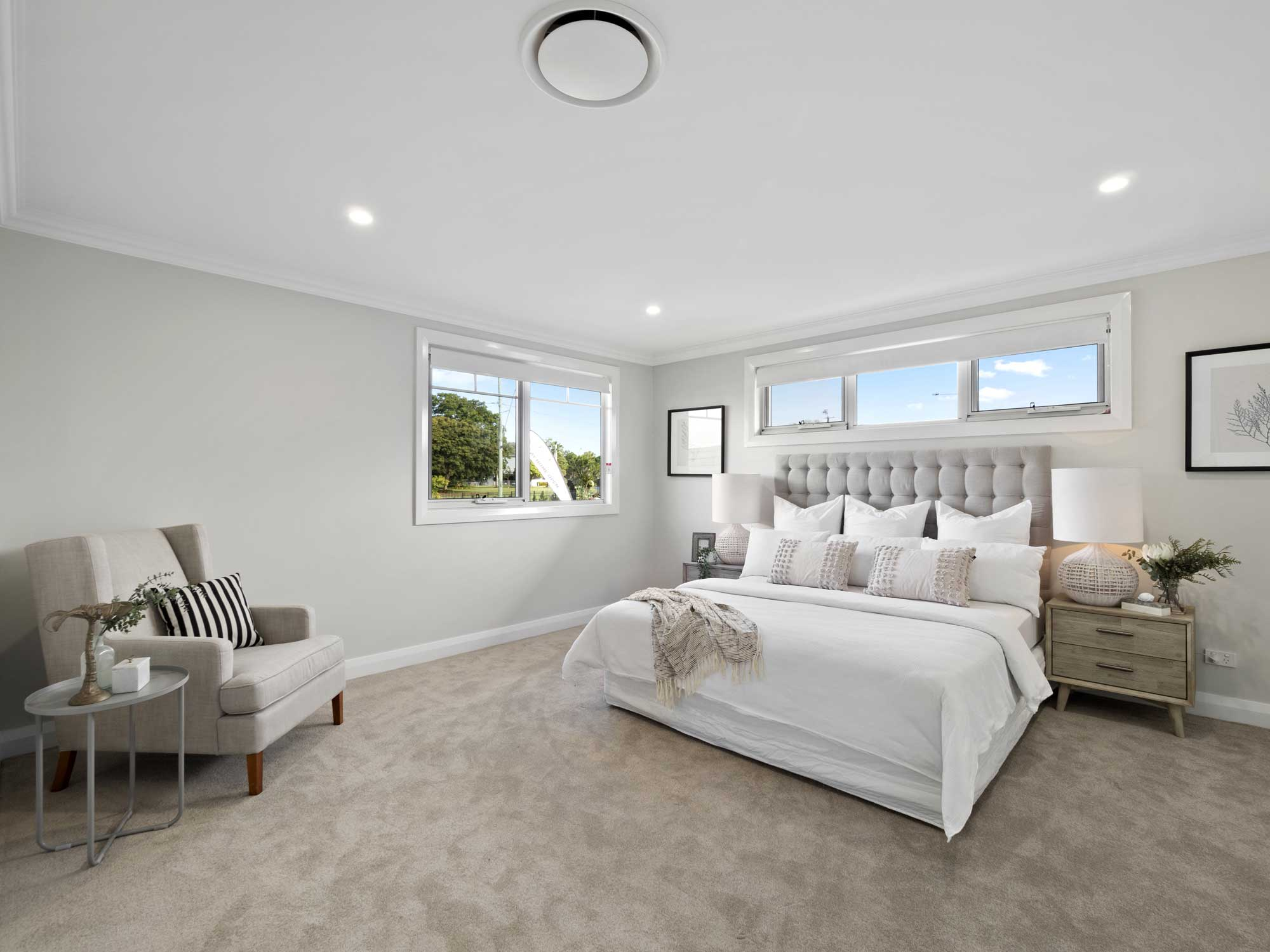 Alphaline Homes display home at lot 62 Superior Parade Bridgeman Downs