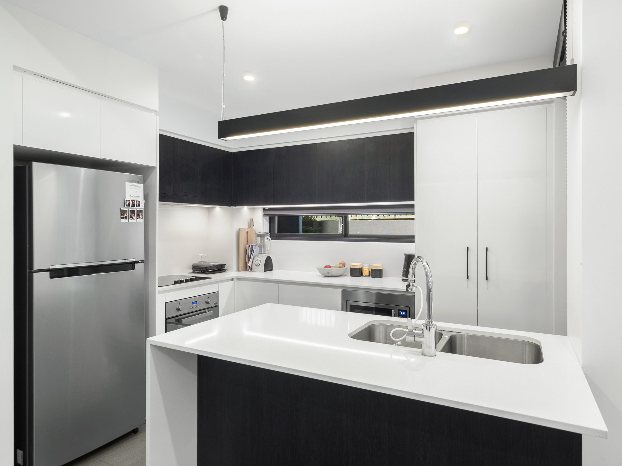 The kitchen area - Apartment photography at Upper Mt Gravatt