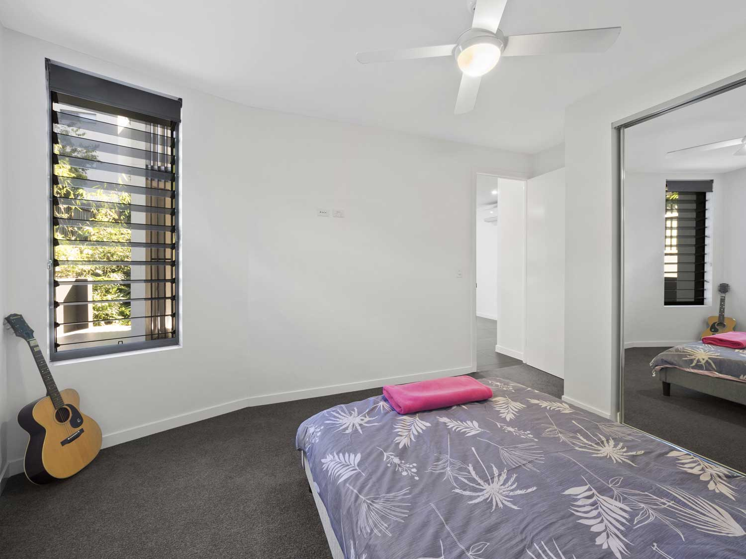 One of the bedrooms - Apartment photography at Upper Mt Gravatt