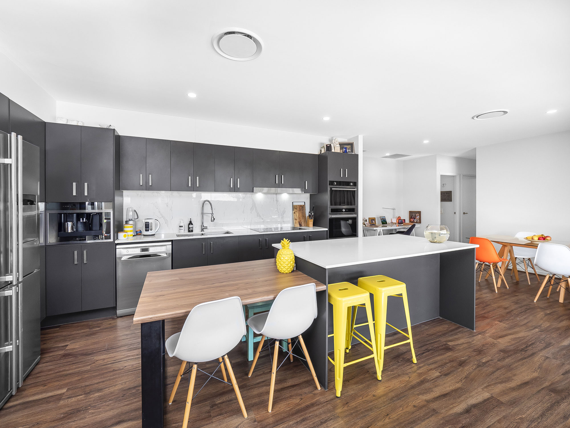 The kitchen area  - Real estate photography at Waterford