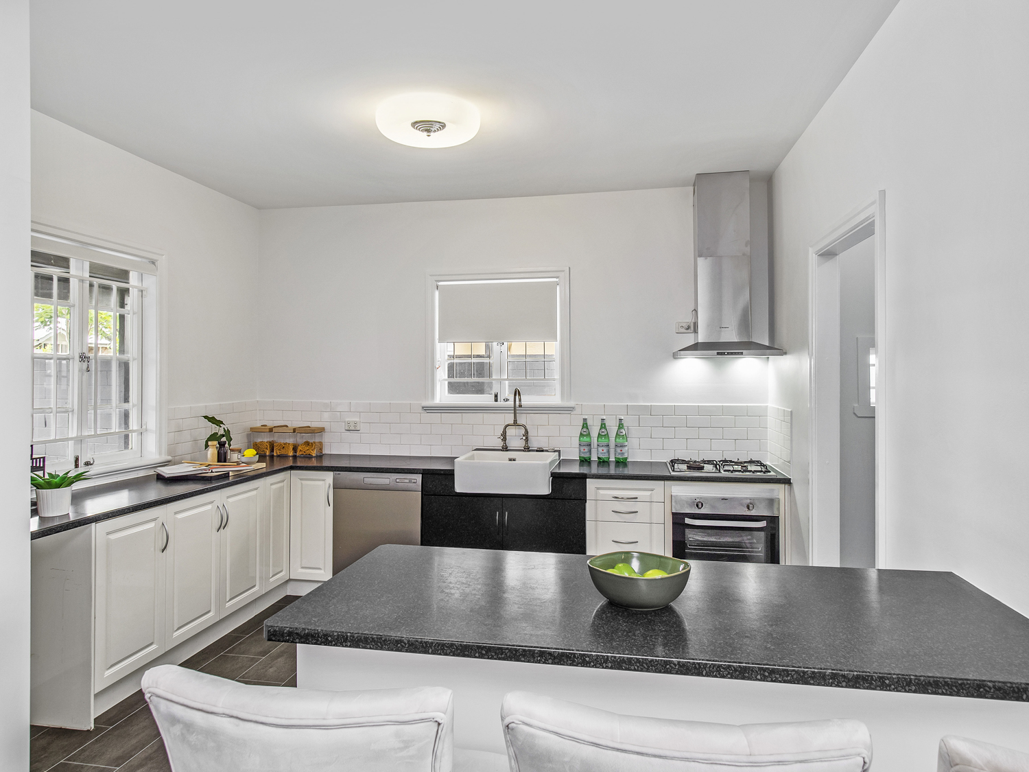 Capturing the kitchen -  Photographing a new property listing at Wavell Heights Brisbane