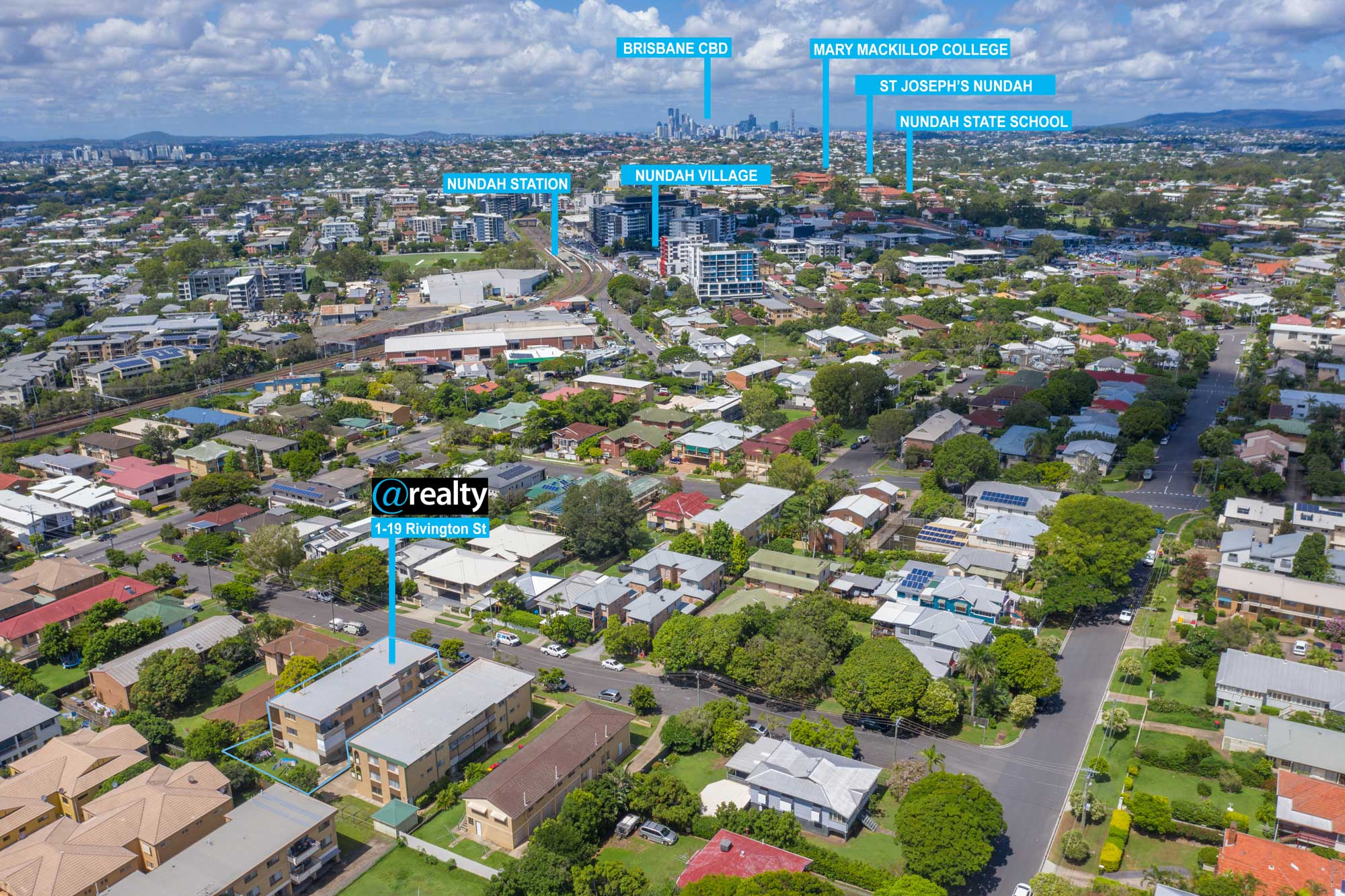 Drone photography at Nundah