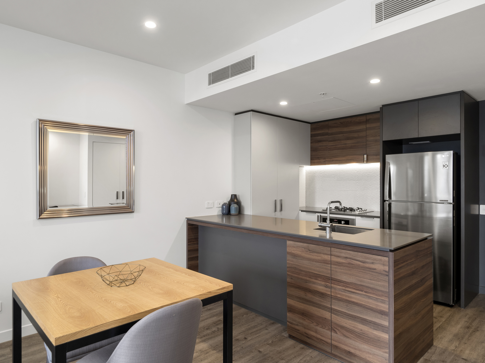 Apartment photography at 38 Hope St South Brisbane
