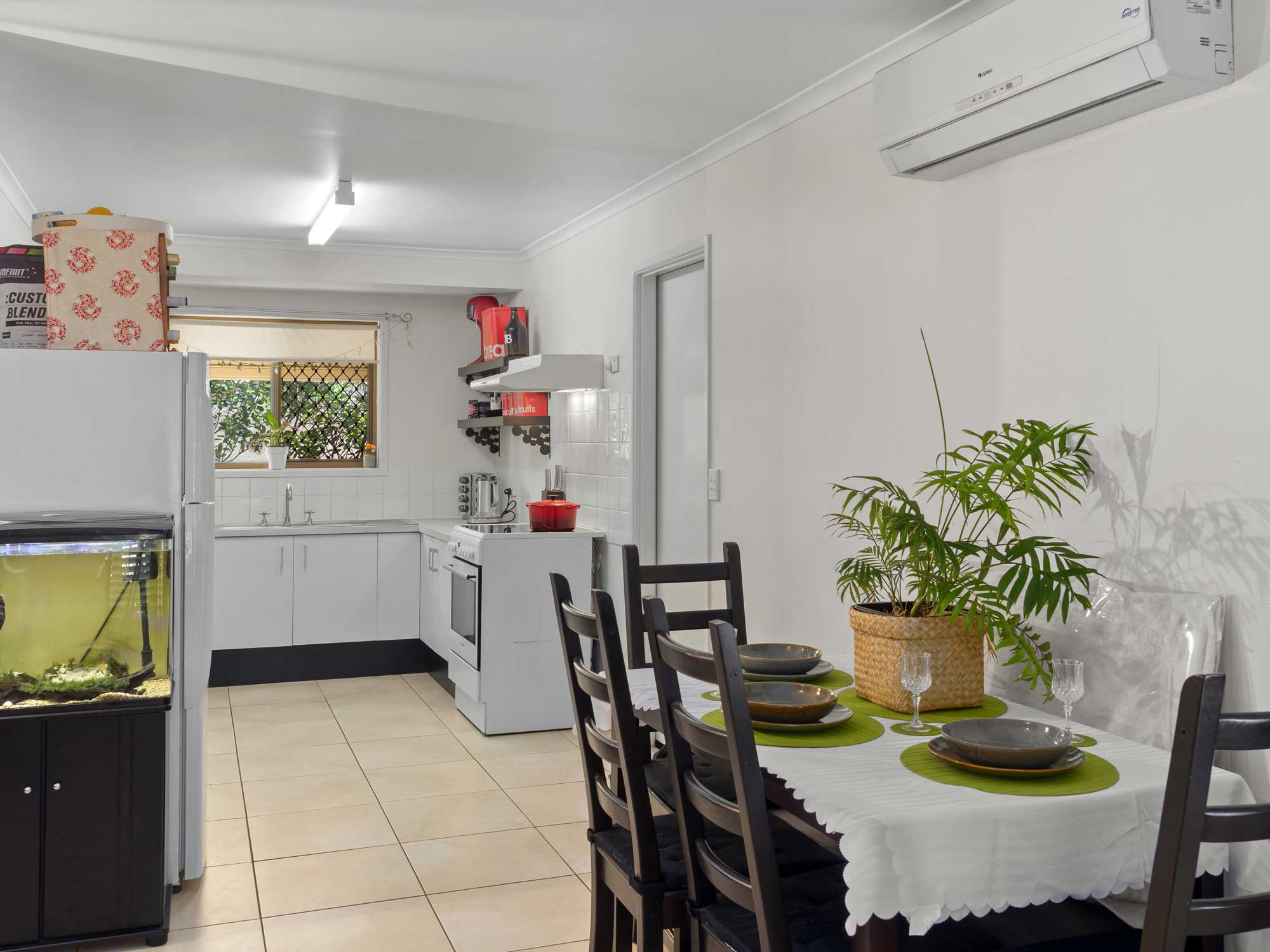 Capturing the entry way of the home for sale at Mitchelton