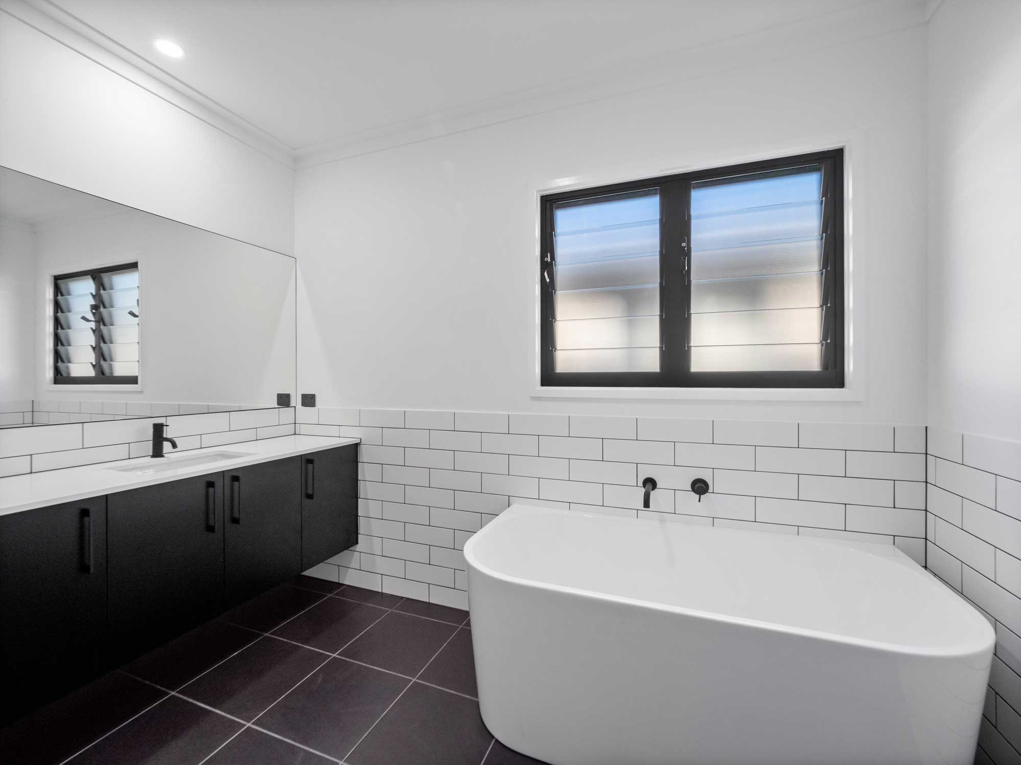 Construction completion photography for 35 Jensen St Banyo