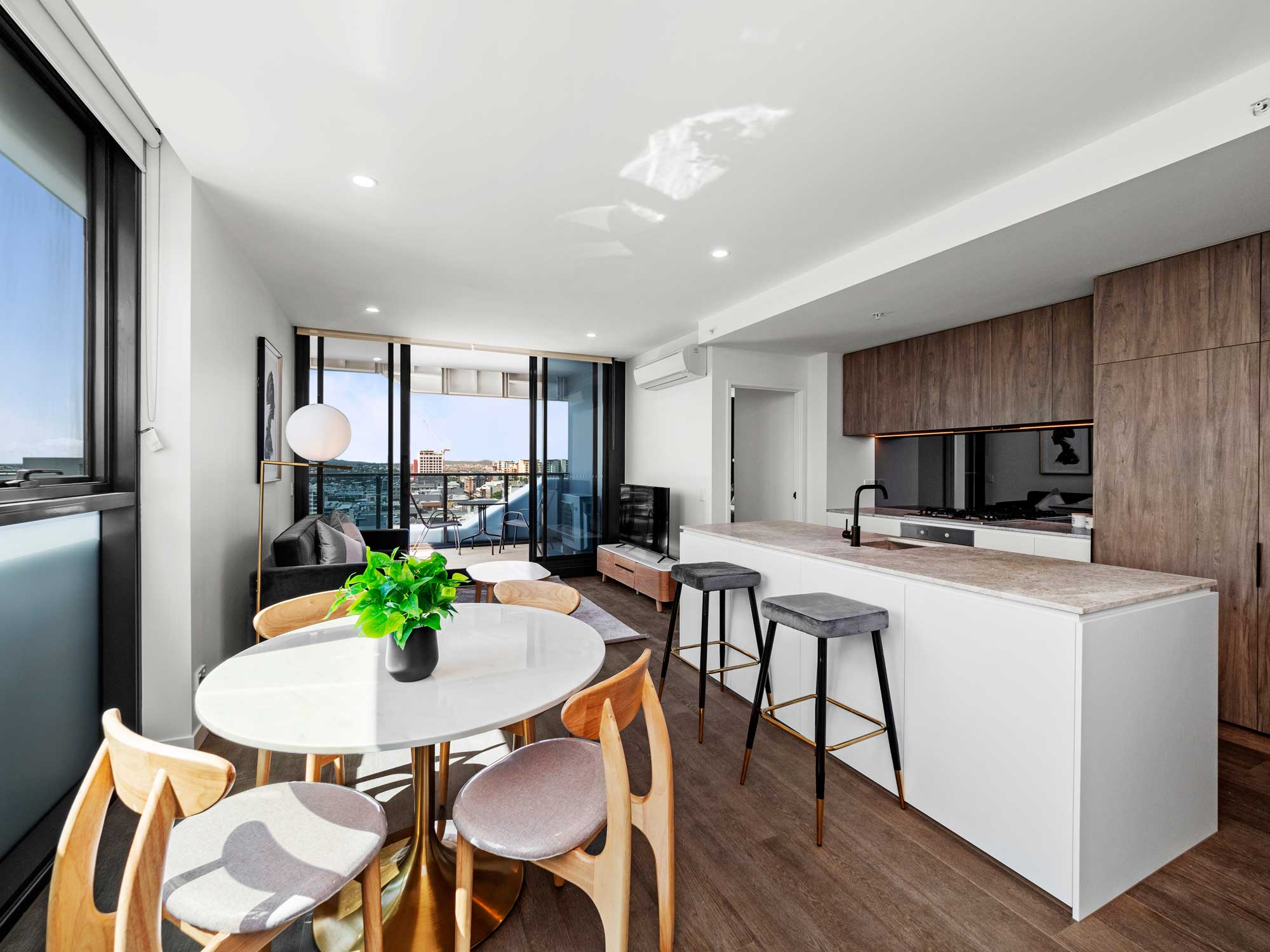 Apartment photography at Coterie, Alfred St Fortitude Valley
